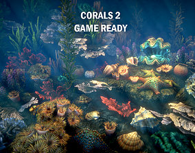 Corals 2 3D asset