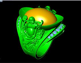 3D printable model Ring of god of wealth