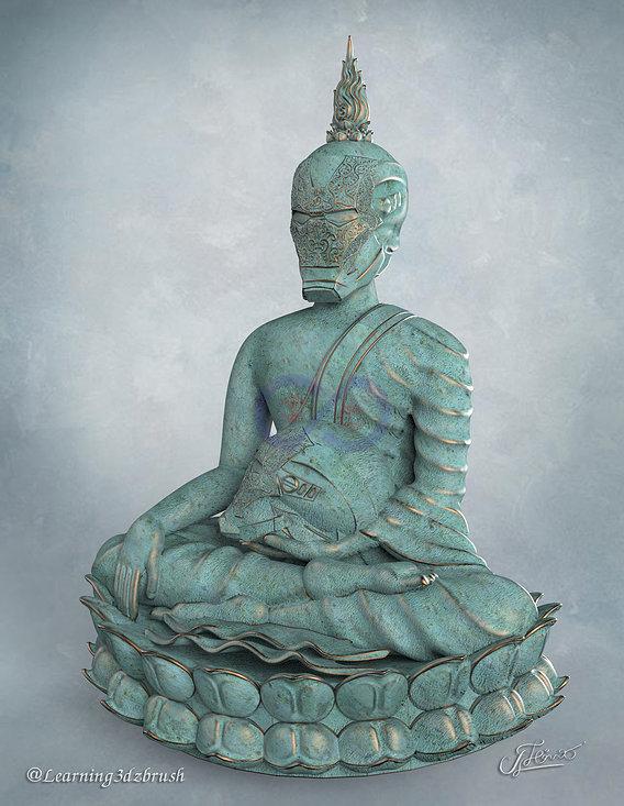 Iron Man Buddha