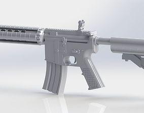 3D printable model M4A4 Rifle