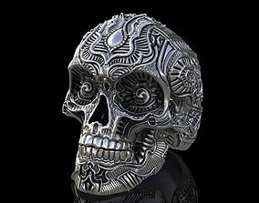 Skull Ring dreamscapes 3D print model
