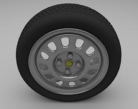 3D model VW Golf Wheel