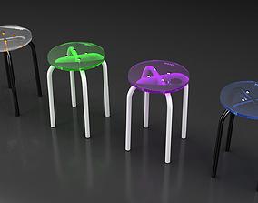 3D model Design stool