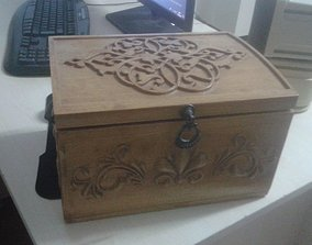 3D print model CNC Ready Chest - Decorative