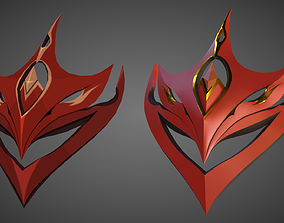 Genshin Impact Tartaglia Childe s Mask 3D