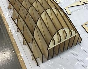 3D print model P-51 Canopy