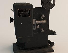 Kodak 8mm Projector 3D model
