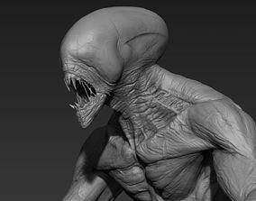 Sci-Fi Creature 3D model