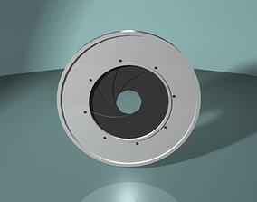 3D Optical Diaphragm - Camera Shutter