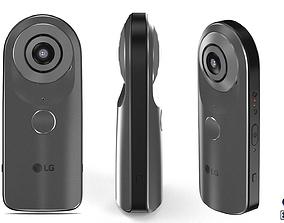 LG 360 view Camera 3D model