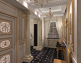 3D Ampir Neoklasik Hall
