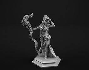 Sahaman girl 3D print model
