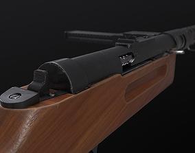 MP18 Submachine Gun 3D asset