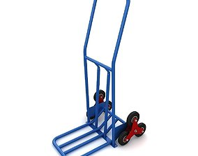 Stair climbing sack truck 3D model
