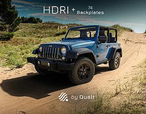 3D model hdri 1 HDRI - Automotive 013