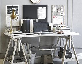 3D model Womens office workplace barometer