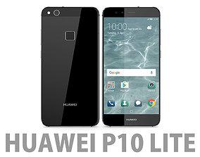 3D Huawei P10 Lite Graphite Black