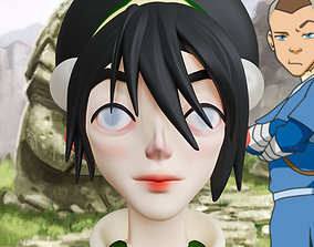 Toph Beifong Avatar The Last Airbender 3d print model