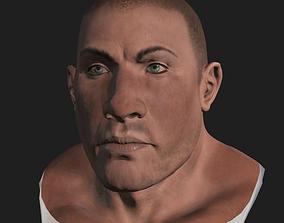 3D asset Brute Head Mesg