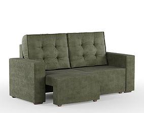 Sofa Corsa 3D green