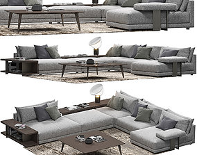 Poliform Bristol Sofa 3D