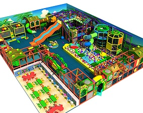 3D Amusement park 08