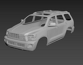 Toyota Sequoia 2 gen 3D print model