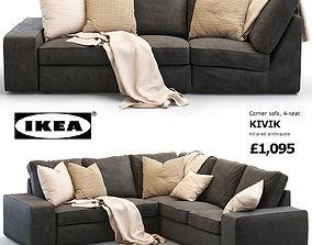 Ikea KIVIK corner sofa 3D model