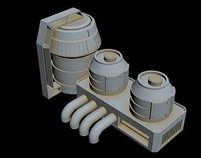 Starship Detail 2 3D model