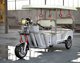 3D printable model Electronic Rickshaw - High