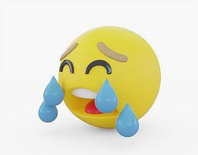 Emoji Crying 3D model