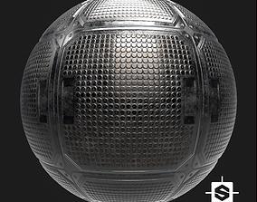 Sci-Fi Floor Panel PBR 3D model