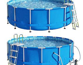 Pool swimming 3D model