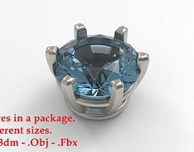 Jewelry Prong Head Set Package 237 3D print model