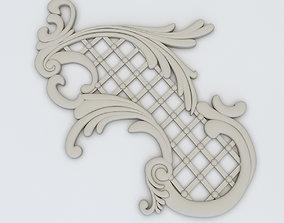 3D asset Plaster Decor