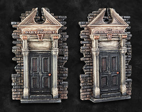 The Daily Prophet Gate - Harry Potter 3D print model