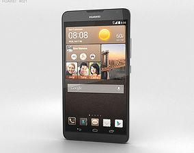 3D Huawei Ascend Mate 2 4G Crystal Black
