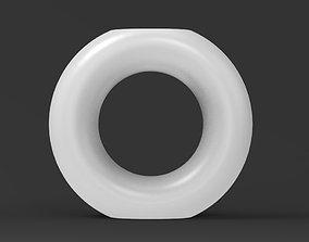 3D printable model Ring Vase cactus