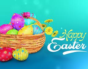 3D model Easter eggs