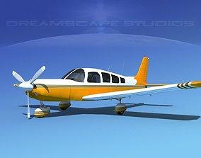 Piper Cherokee Six 260 V14 3D