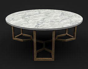 3D asset Four Hands - Naomi Coffee Table