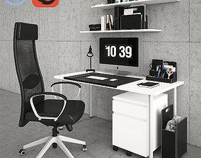 3D Ikea Desktop