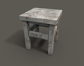 Old chair 3D asset