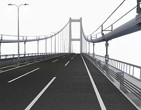 3D Bosphorus Suspension Bridge