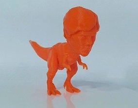 3D print model Tyrannosaurus Rex With Benedict Cumberbatch