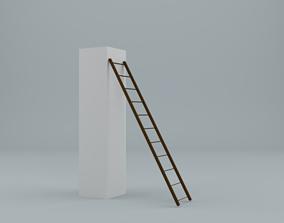 ladder 3D model lowpoly VR / AR ready