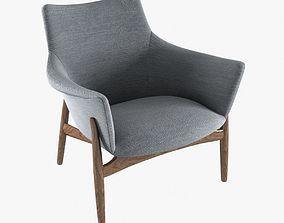 kitani easy chair 3D model