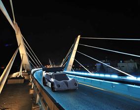 Porche car special design 3D printable model
