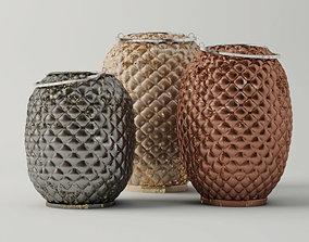 Pineapple Lanterns 3D model