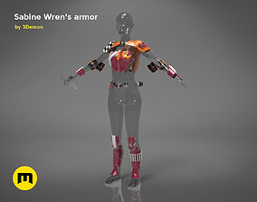 Sabine Wrens armor 3D print model